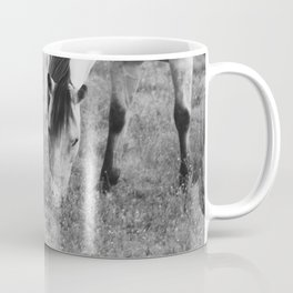 Horses Eating Coffee Mug
