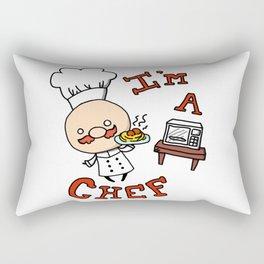 I'm a Chef! Rectangular Pillow