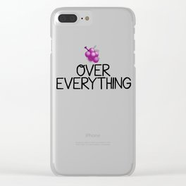 Jelly over everything Ballislife Clear iPhone Case