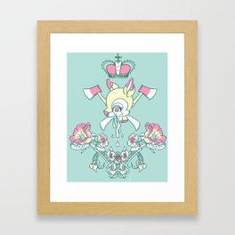 King Bambi Framed Art Print