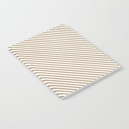 Iced Coffee Stripe Notebook