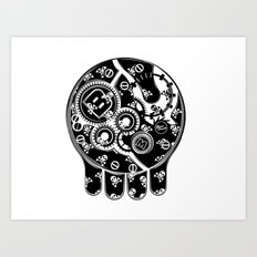 Time Bomb (Inverted) Art Print