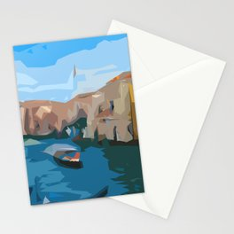 The City over Water Stationery Cards