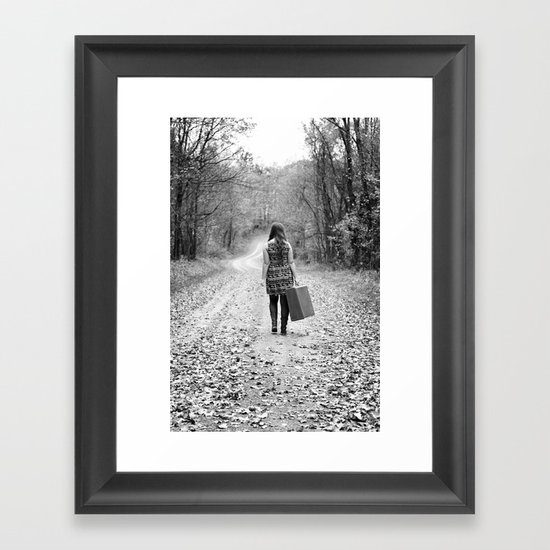 Autumn Flight Framed Art Print