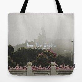 Hong Kong Tian Tan Buddha Tote Bag
