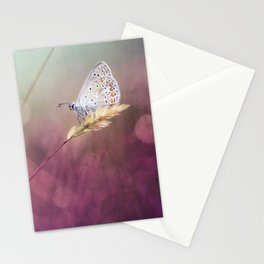 Purple heat... Stationery Cards