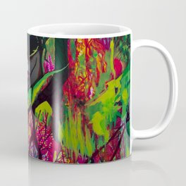Lost in Neon Synapses Coffee Mug