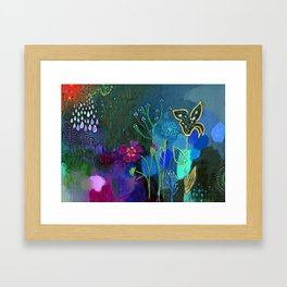 Emerging Framed Art Print