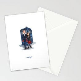 The Doctor & Clara Stationery Cards