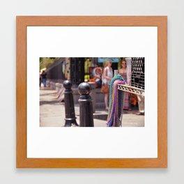 French Quarter Framed Art Print