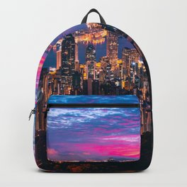 Sunset City (Color) Backpack