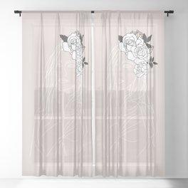 Romantic Girl Sheer Curtain