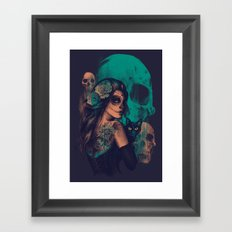 UNTIL THE VERY END Framed Art Print