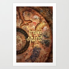 Travel Spirit #10 Art Print