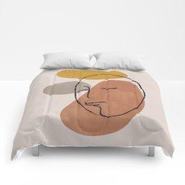 Portrait 1 Comforters
