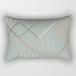 Geometric Shapes 08 Rectangular Pillow