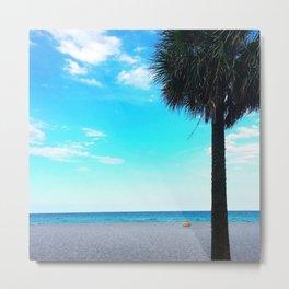 Blue Skies in Florida Metal Print