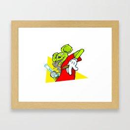 Trap Rat King Bong Fiend & Friend by Donut Matter Framed Art Print