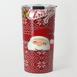 Noel Surprise Hiding Christmas Gift Travel Mug