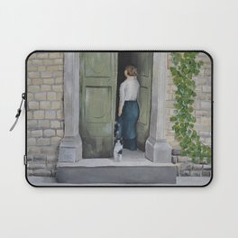 Going In and Out Laptop Sleeve