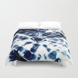 Tie Dye Sunburst Blue Duvet Cover