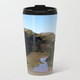 Between The Rocks Metal Travel Mug