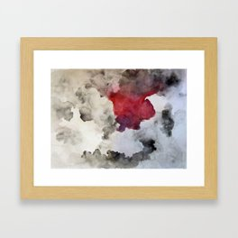 Silent Storm  Framed Art Print