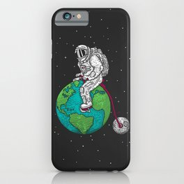 Ride the world iPhone Case