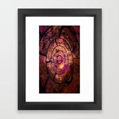 Spiral Chaos Framed Art Print
