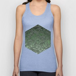 Grunge Relief Floral Abstract G167 Unisex Tank Top