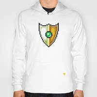 shield Hoodies featuring Shield by HOVERFLYdesign