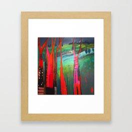 Trees 1 Framed Art Print