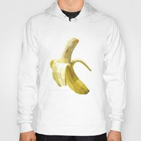 Hoodies featuring Banana by Liam Brazier