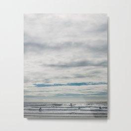 Surf Time Metal Print