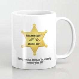 Beecham County Sheriff Coffee Mug