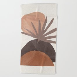 Abstract Shapes 17/2 Beach Towel