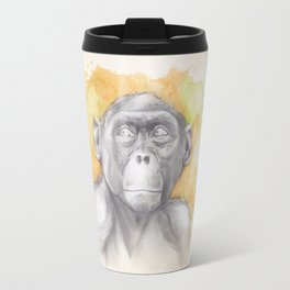 Bonobo Watercolour Travel Mug