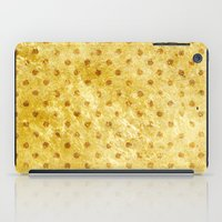 stay gold iPad Cases featuring Stay Gold #society6 by 83 Oranges™