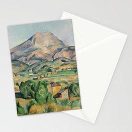Paul Cezanne Mont Sainte-Victoire (La Montagne Sainte-Victoire) 1892-1895 Stationery Cards