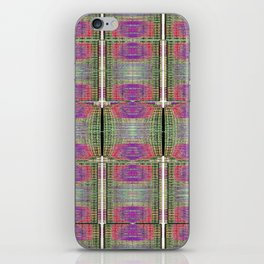 Digital Printed Yarn Textures iPhone Skin