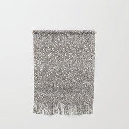 Silver Glitter I Wall Hanging