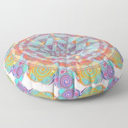 Serendipity Sri yantra Floor Pillow
