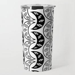 Eyes all over Travel Mug