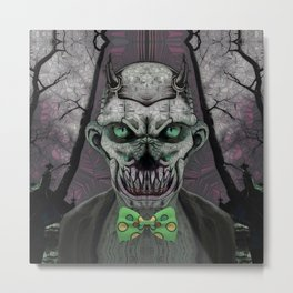 Devil's Butler Metal Print
