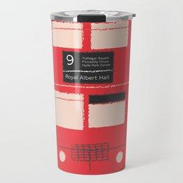 Red Double Decker Bus  Travel Mug