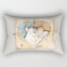 Ferret love Rectangular Pillow