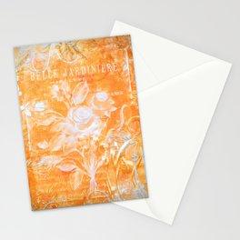 French Twist Orange Stationery Cards