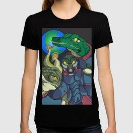 3 Reptilian Earth T-shirt