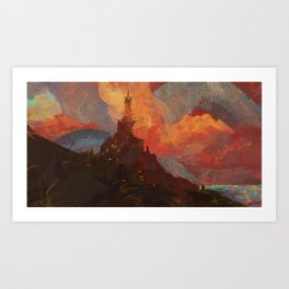 Dragon of the West Art Print