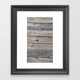 Charleston Harbor Dock Framed Art Print